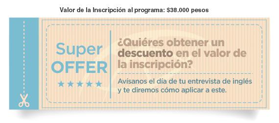 ¿Quieres obtener un descuento en el valor de la inscripción?
